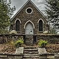 Old Stone Church by Erika Fawcett