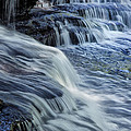 Old Stone Fort Waterfall by Diana Powell