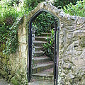 Old Stone Gate by Carla Parris