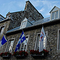 Old Stone Houses In Quebec City Canada  by Georgia Mizuleva