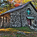 Old Stone Lodge by Anthony Sacco
