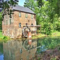Barnett's Old Stone Mill - Square by Gordon Elwell