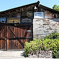 Old Storage Shed At The Swiss Hotel Sonoma California 5d24458 by Wingsdomain Art and Photography