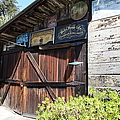 Old Storage Shed At The Swiss Hotel Sonoma California 5d24459 by Wingsdomain Art and Photography