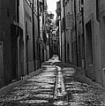 Old Street by Alyaksandr Stzhalkouski