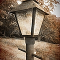 Old Street Lamp by Richard Reeve