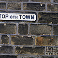 Old Street Sign by Gillian Singleton