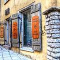old street Tallin by Yury Bashkin