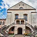 Old Synagogue Izaaka In Kazimierz District Of Krakow Poland by Frank Bach