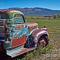 Old Taos Pickup Truck by Matt Suess