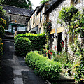 Old Terrace Houses - Peak District - England by Doc Braham