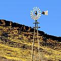 Old Texas Farm Windmill by Christine Till
