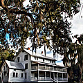 Old Thursby Plantation House by Alice Gipson
