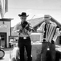 Old Time Musicians Bw by Cathy Anderson