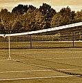 Old Time Tennis by Frozen in Time Fine Art Photography