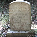 Old Tombstone  by Cathy Lindsey