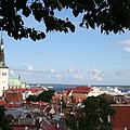 Old Town And Harbor - Tallinn by Christiane Schulze Art And Photography