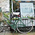 Old Town Bike Stop by Danielle Allard