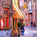 Old Town Bruges Belgium by Juli Scalzi