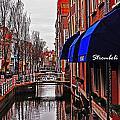 Old Town Delft by Elvis Vaughn