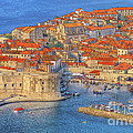 Old Town Dubrovnik by Douglas J Fisher