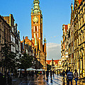 Old Town  Gdansk  Poland by Zbigniew Krol