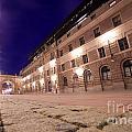 Old Town In Stockholm At Night by Michal Bednarek