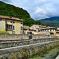Houses And Roofs by Salvatore Gabrielli