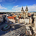 Old Town Square / Prague by Barry O Carroll