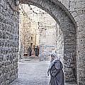 Old Town Street Of Jerusalem Israel by Jacek Malipan