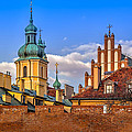 Old Town View by Tomasz Dziubinski