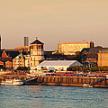 Old Town With Lambertus Church by Panoramic Images