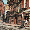 Old Towne Boston II by Mary Lou Chmura