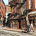 Old Towne Boston by Mary Lou Chmura