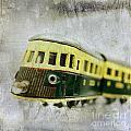 Old Toy-train by Bernard Jaubert