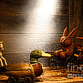 Old Toys In The Attic by Olivier Le Queinec