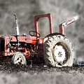 Old Tractor by Brainwave Pictures