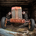 Old Tractor Face by Gary Heller