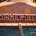 Old Tractor Grille by Les Palenik
