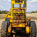 Old Tractor by Les Palenik