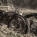Old Tractor by Lynn Geoffroy