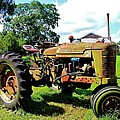 Old Tractor  by Ronald Hanson