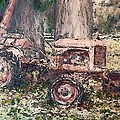 Old Tractor by Stanley  Funk