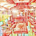 Old Train 2 by Robert Rhoads