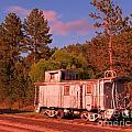 Old Train Caboose by John Malone