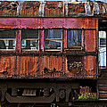 Old Train Car by Garry Gay
