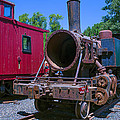 Old Train Engine by Garry Gay