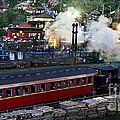 Old Train In The Village - Paranapiacaba by Carlos Alkmin