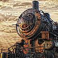 Old Train Still In Light by Randall Branham