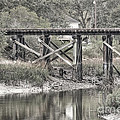 Old Train Trestle by Scott Hansen